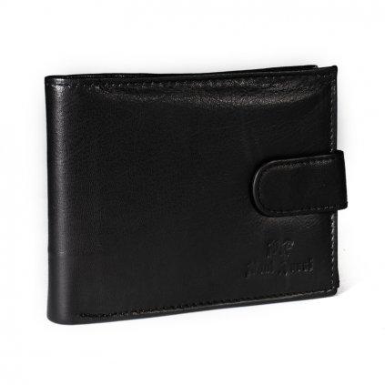 Kožená peněženka Paul Rossi N992L-GTN černá