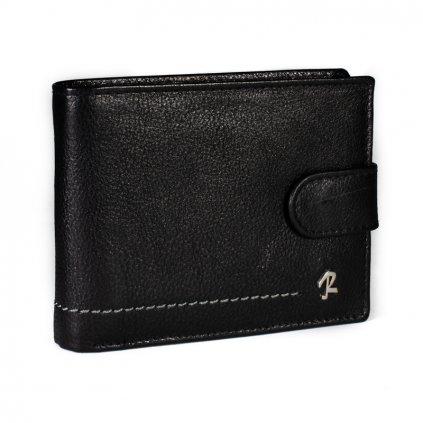 Kožená peněženka Rovicky N992L-CMC černá