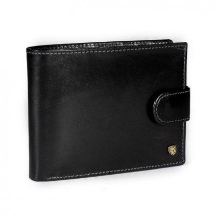 Kožená peněženka Rovicky N992L-RVT černá