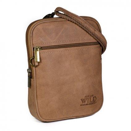 Pánská taška přes rameno Always Wild 1113-TGH světle hnědá