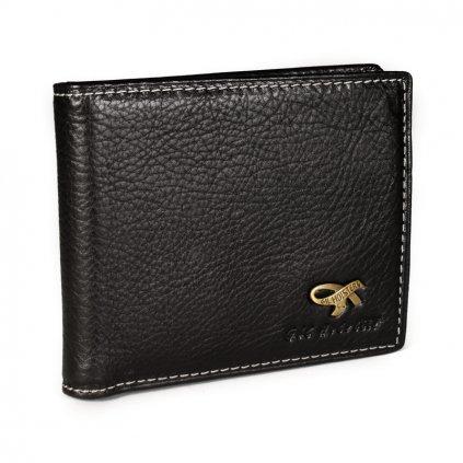 Luxusní kožená pánská peněženka Gil Holsters G317546 černá