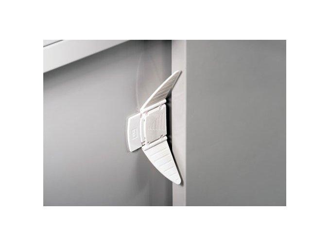 Bezpečnostný uzáver posuvných dverí, 2 ks