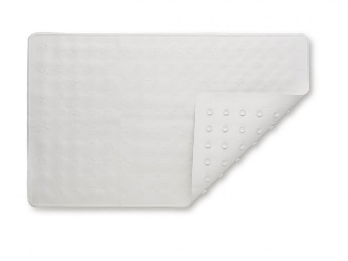 Protišmyková podložka do vane Biela 35 x 55 cm