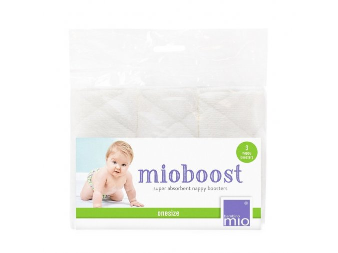 Sada troch absopčních látkových vložiek do detských plienok