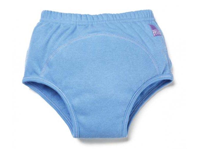Bambinomio Učiace plienkové nohavičky 3+ roky modrá