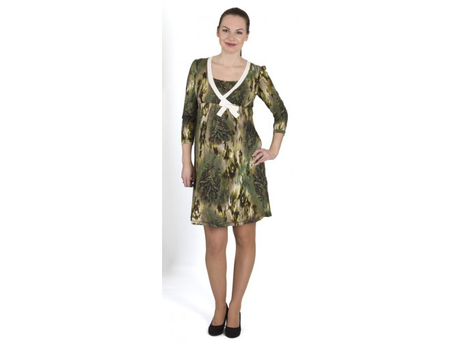 Vzorované těhotenské a kojící šaty Rialto Lovdaun