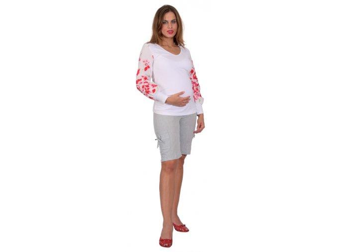 Těhotenská halenka RIALTO BISSEN 0219 (Dámská velikost 38)