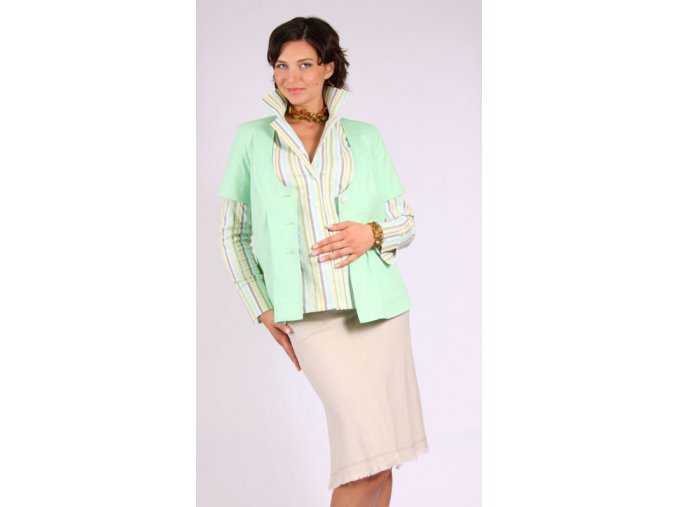 Těhotenská sukně RIALTO SANEM režná 01242 (Dámská velikost 44)