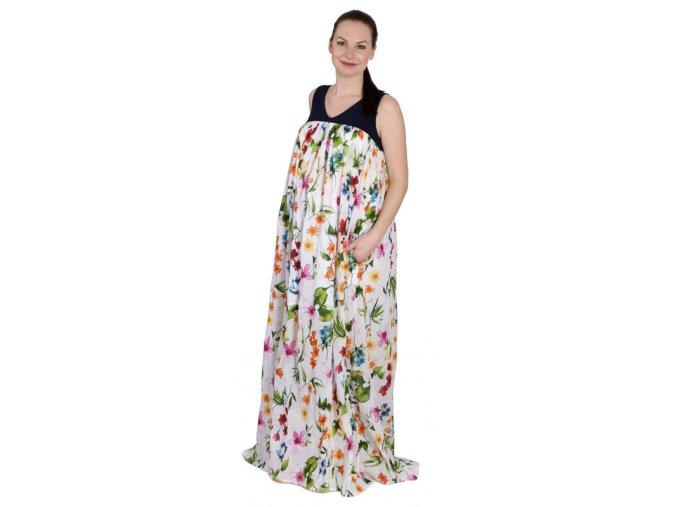 Těhotenské šaty RIALTO LEMAX 0306 (Dámská velikost 44)