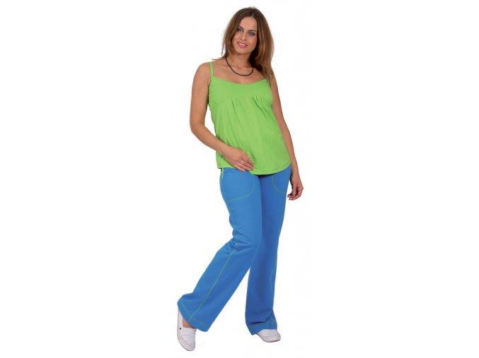 Těhotenské tílko RIALTO ELLY zelené 0199 (Dámská velikost 42)