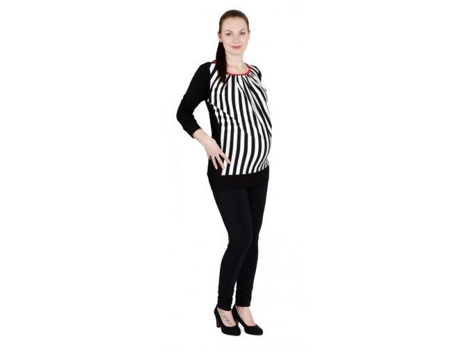 Těhotenské tričko RIALTO RIGA 0478 (Dámská velikost 44)