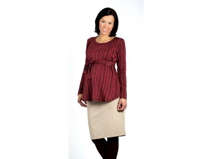Těhotenské tričko RIALTO ROISEL 0151 (Dámská velikost 44)