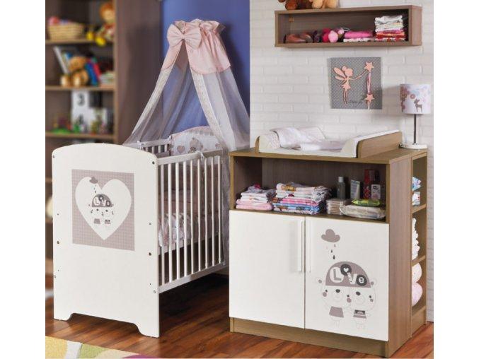 Dětský pokoj Faktum Poppi (Vzor se vzorem)