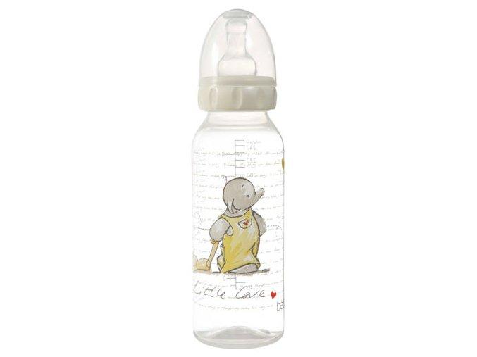 Fľaštička Bébé-Jou Humphrey Krémová 250 Ml