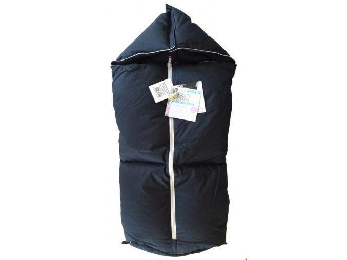 Aro perový novorodenecký fusak 3v1 Multi Wichtel Čierny Xl-Predĺžený