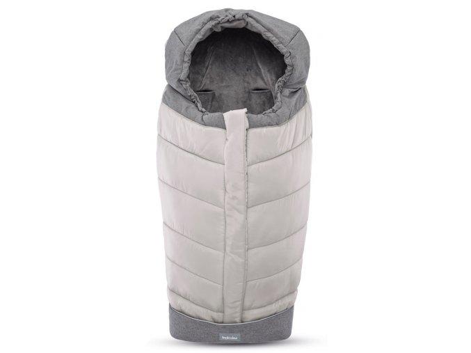 Inglesina Fusak Winter Muff Silver pre kombinovaný/športový kočík