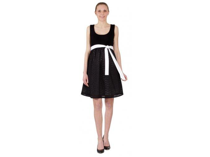 Těhotenské šaty RIALTO LACROIX UP 7542 (Dámská velikost 44)
