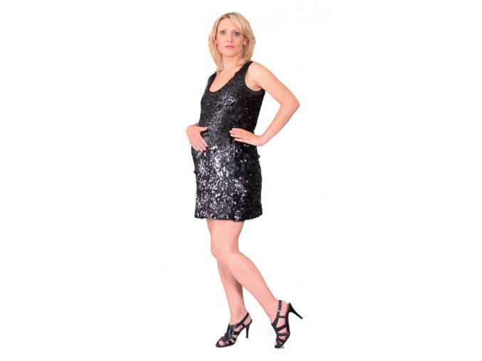 Efektní těhotenské šaty kratší délky Rialto Lareid