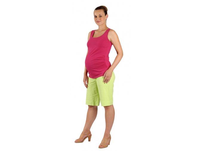Bavlněné těhotenské tričko.