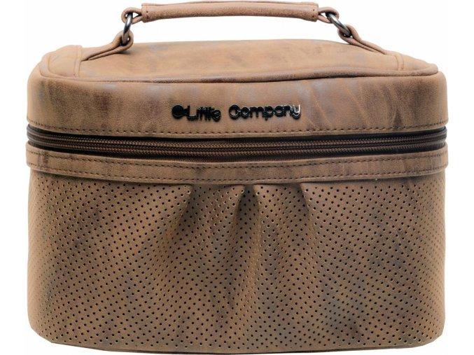 Beautycase kozmetická taška Emily Cognac