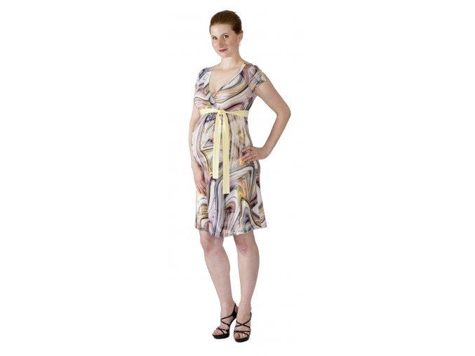 Tehotenské a dojčiace šaty Rialto Larochette Farebná Kolieska 0513