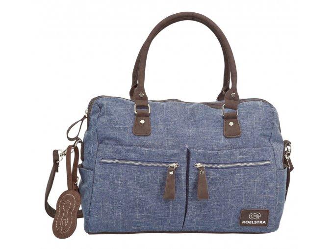 Koelstra prebaľovacia taška Nimme Denim Blue