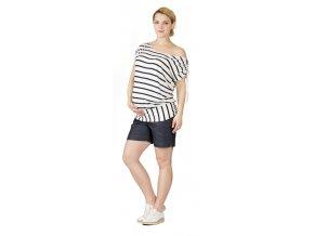 Tehotenské tričko Rialto Divion bambus pruhované 0554