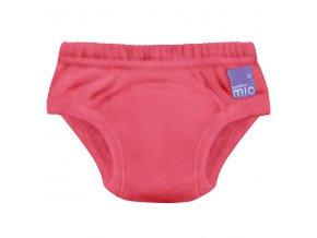 Červené učící plekové kalhotky Bambino Mio 2-3 roky Ruby