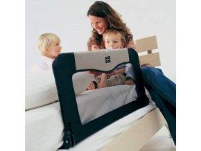 Cestovná zábrana k posteli+Taška, Black 90 cm