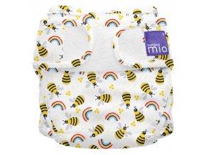 Svrchní látkové plenkové kalhotky Miosoft Honeybee Hive MS1 HIVE