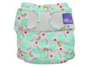 Svrchní látkové plenkové kalhotky Bambino Mio Miosoft Snail Surprise MS1 SNL