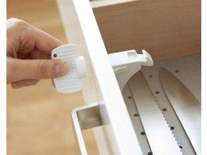 Magnetický uzáver pre skrinky a zásuvky