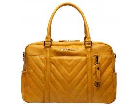 Sytě žlutá přebalovací taška na plenky Little Company Amstrodam