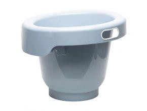 Světle modrý koupací kyblík pro miminka Bébé-Jou Fabulous