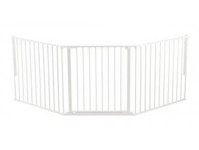 Bílá prostorová zábrana OLAF X 90-225 cm