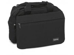 MY BABY BAG BLACKvelmi prostorná přebalovací taška