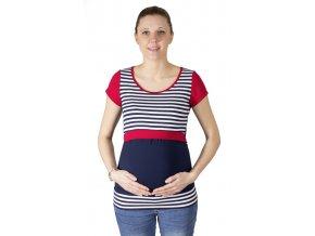 Dojčiace a tehotenské tričko Rialto Denisa, Pruhované 0468
