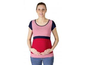 Dojčiace a tehotenské tričko Rialto Denisa, Pruhované 0610