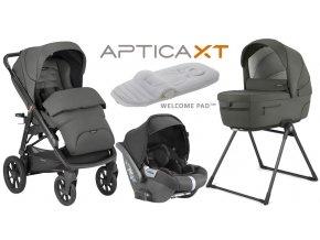 Kočík Inglesina APTICA 4v1 SET XT Charcoal Grey