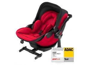 Novorozenecká autosedačka Kiddy Evoluna i-Size s isofixovou bází Candy Red41942EL194 pv with Isofix Base