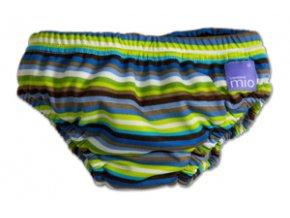 Nohavičky na kúpanie Brown Stripe V.S