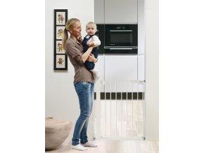 Babydan zábrana SlimFit  kov biela 63 - 69,5cm