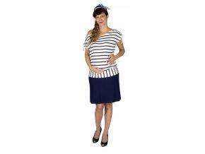 Tehotenská sukňa Rialto Braine tmavomodrá 0466