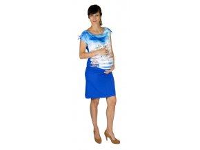 Tehotenská sukňa Rialto Braine modrá 0442