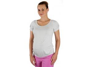 Tehotenské tričko Rialto Dippach šedé 0111