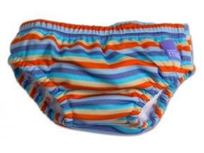 Nohavičky na kúpanie Orange Stripe v.S