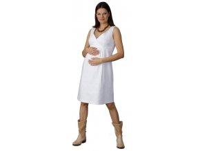 Těhotenské šaty Rialto Laon se záševky
