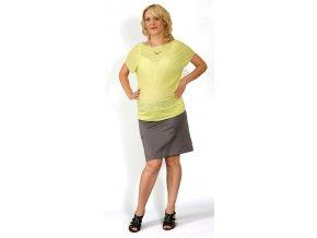 Těhotenské tričko RIALTO COURT sv. zelené 0327 (Dámská velikost 46)
