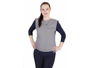 Těhotenské tričko RIALTO RIVA 0467 (Dámská velikost 46)