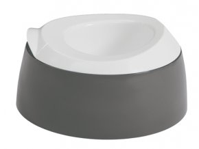 Nočník LUMA dark grey